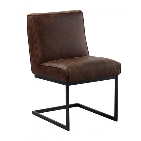 krzesło ze skóry belbazaar