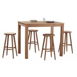 stół barowy dębowy Shepit belbazaar