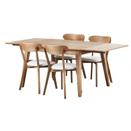krzesło dębowe tapiceorwane Isku belbazaar