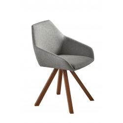krzesło tapicerowane Calico belbazaar