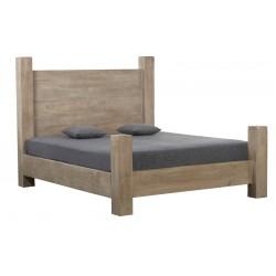 łóżko z drewna mango AUT belbazaar