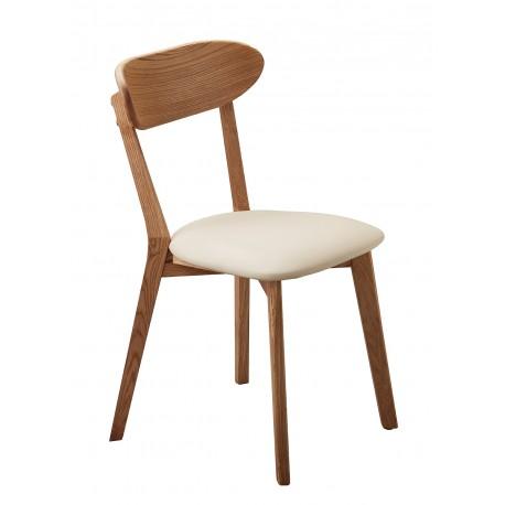 krzesło dębowe tapicerowane Isku belbazaar