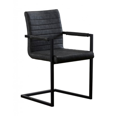 krzesło Louise grafit belbazaar