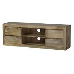 szafka TV z drewna mango 4714 belbazaar