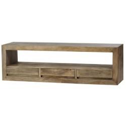 szafka TV z drewna mango 021 belbazaar
