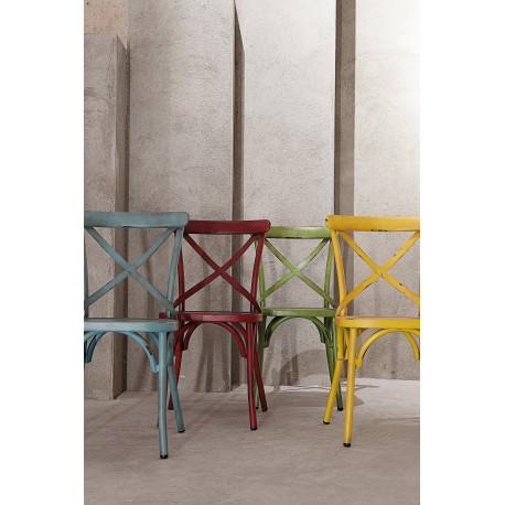 Krzesło metalowe Niza 0743-657