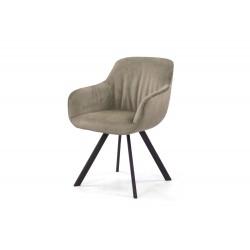 Krzesło tapicerowane 0731-404907 taupe