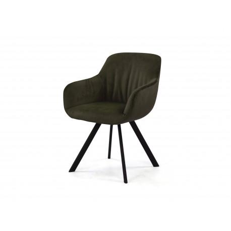 Krzesło tapicerowane 0731-404937 grey