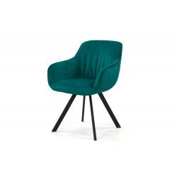 Krzesło tapicerowane 0731-404963 petrol