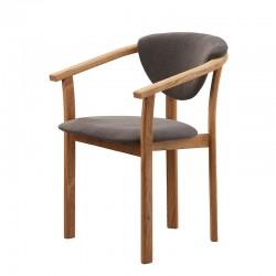 krzesło dębowe z podłokietnikiem Aleksis