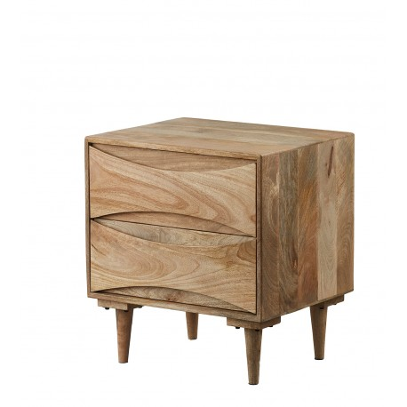szafka nocna z drewna mango 099 belbazaar