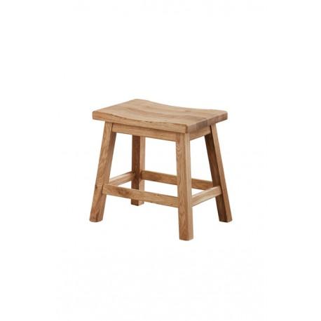 stołek dębowy Genova belbazaar