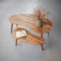 stolik kawowy dębowy Sweden a belbazaar