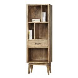 biblioteczka z drewna mango 1746 belbazaar