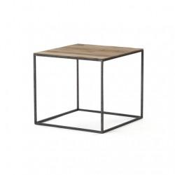 stolik kawowy z drewna teakowego 0714-50T
