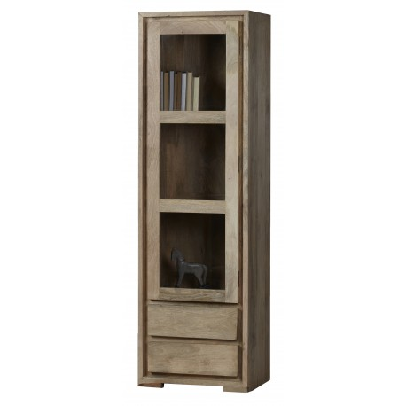 biblioteka z drewna mango 5328 belbazaar
