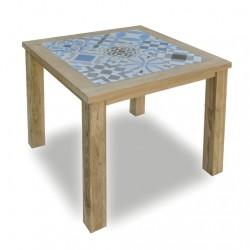 stół z drewna teakowego 0986-ME075BLU