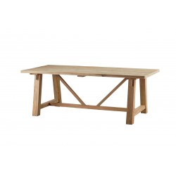 stół z drewna teak Arius belbazaar