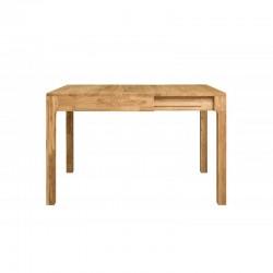 stół dębowy 85 cm rozkładany Sweden belbazaar