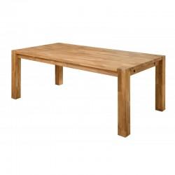 stół dębowy Sweden mali z dostawkami belbazaar