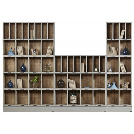 biblioteka z drewna 491 belbazaar