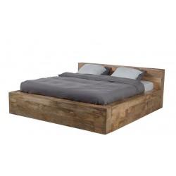 łóżko z drewna mango Lucy belbazaar