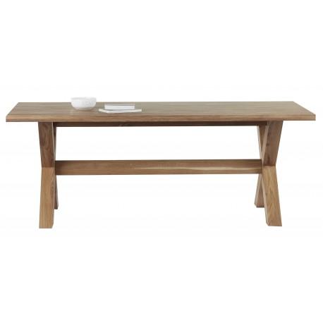 stół dębowy rozkładany CROSS belbazaar