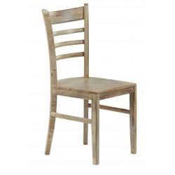 krzesło z drewna mango 4742 belbazaar