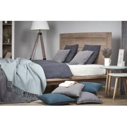 łóżko z drewna mango Santi belbazaar