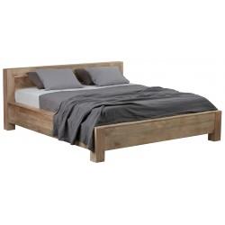łóżko z drewna mango Lucy II belbazaar