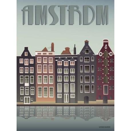 Amsterdam plakat VISSEVASSE