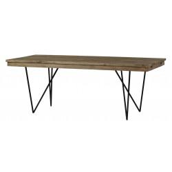 stół z drewna mango 2946 belbazaar