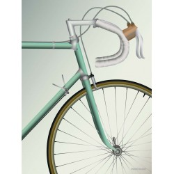Racing Bicycle plakat VISSEVASSE