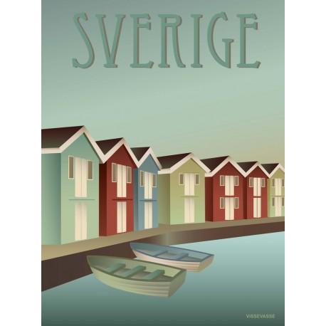Sweden plakat VISSEVASSE