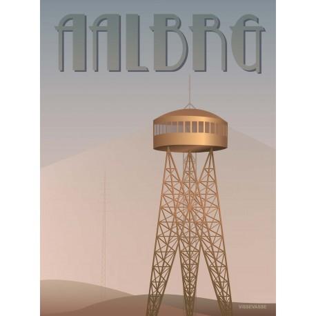 Aalborg tower plakat VISSEVASSE
