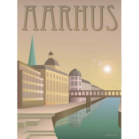 Aarhus Creek plakat VISSEVASSE
