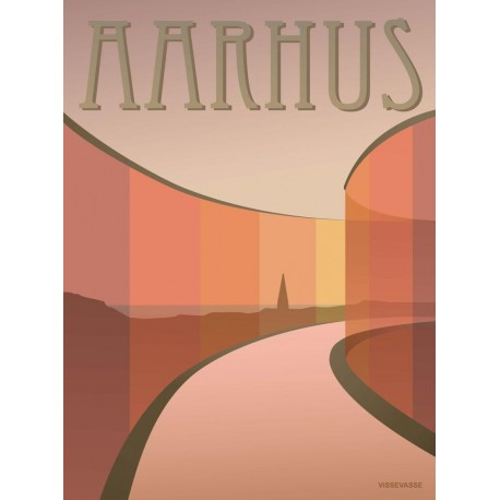 Aarhus Aros plakat VISSEVASSE