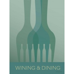 Wining and Dining plakat VISSEVASSE