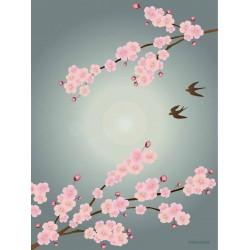 Sakura plakat VISSEVASSE