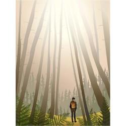 Into the woods plakat VISSEVASSE