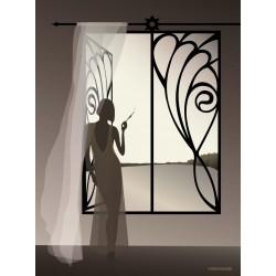 The Girl in the Window plakat VISSEVASSE
