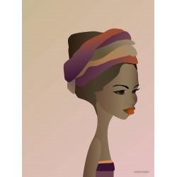 Kenya girl plakat VISSEVASSE