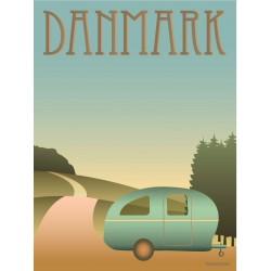 Denmark Camping plakat VISSEVASSE
