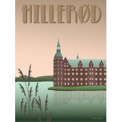 HILLERØD Castle plakat VISSEVASSE