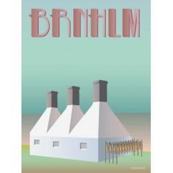 Bornholm Smokehouse plakat VISSEVASSE