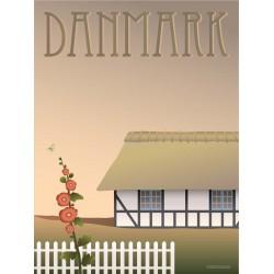Denmark Farmhouse plakat VISSEVASSE