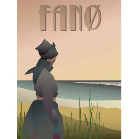 Fanø Girl plakat VISSEVASSE