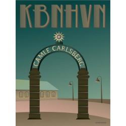 Copenhagen Stargate plakat VISSEVASSE
