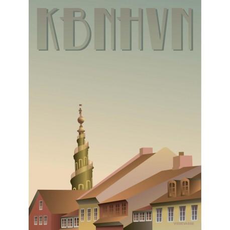Copenhagen Christianshavn plakat VISSEVASSE