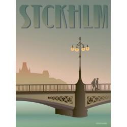 Stockholm Vasabroen plakat VISSEVASSE
